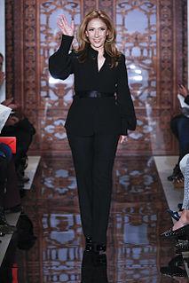 Reem Acra fashion designer