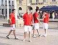 Federación de Castilla y León de Fútbol u Zagrebu 160609 2.jpg