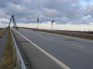 Fehmarn Sound Bridge - Image: Fehmarnsundbruecke sprengschaechte