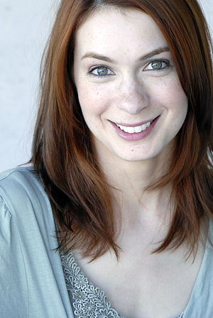 Felicia Day, actress and web content producer.