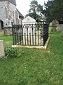 Fenced tomb within Ropley Churchyard - geograph.org.uk - 1182448.jpg