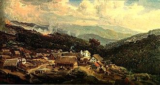 Colonia Tovar - Ferdinand Bellermann. Colonia Tovar