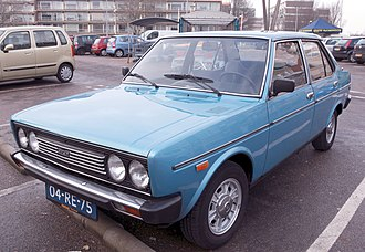 Fiat 131 - Fiat 131 (Series 1)