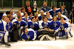 IIHF European Women Championships - Finland's national women's team, four times winner of this tournament
