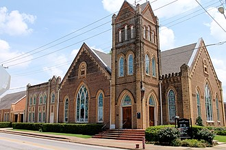 National Register of Historic Places listings in Houston County, Texas - Image: First Methodist Church 1