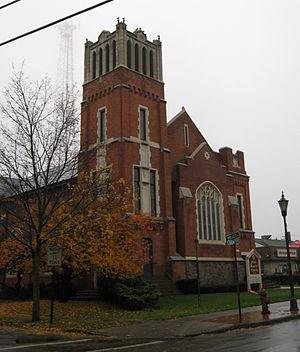 First Baptist Church (Brockport, New York) - First Baptist Church, October 2009