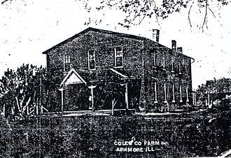 Ashmore Estates - First Coles County Almshouse, c.1890