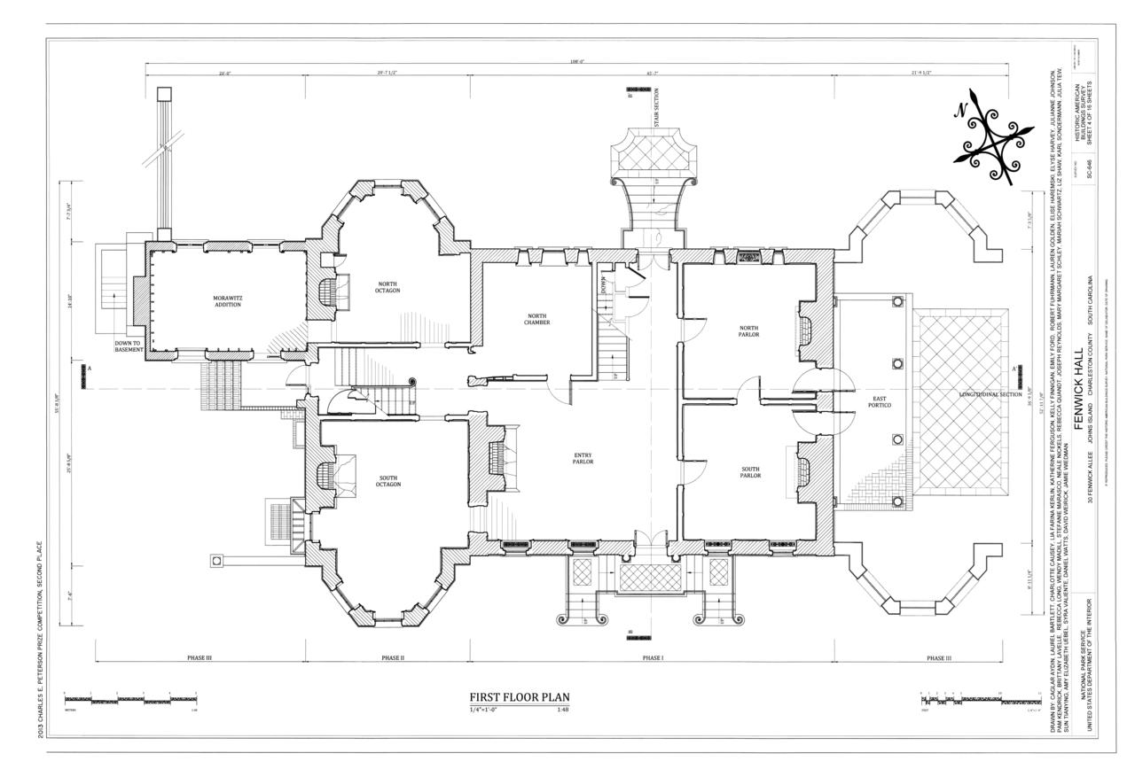 File first floor plan fenwick hall plantation northeast for Plantation floor plan