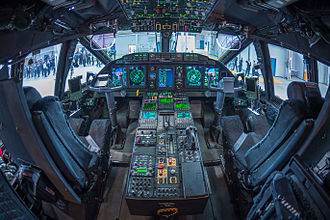 Alenia C-27J Spartan - RAAF C-27J Spartan cockpit view