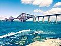 Firth of Forth railwaybridge, a shot from my daughter in law Jolein - panoramio.jpg