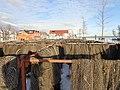 Fischernetze (Plauer See).JPG
