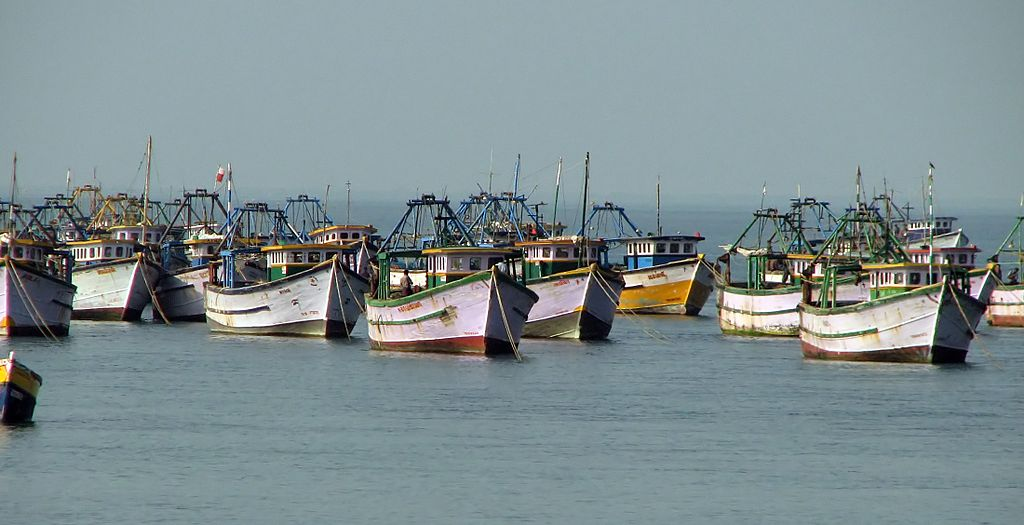 Fishing Boats at Rameshwaram