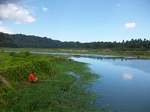 Marinduque - Image: Fishing Time at Boac River Brgy.Tumapon