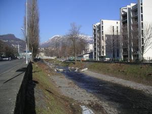 Cassarate (river) - Cassarate river in Lugano