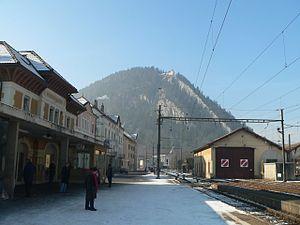 Val-de-Travers - Fleurier train station