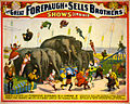 Flickr - …trialsanderrors - Terrific flights over ponderous elephants, poster for Forepaugh ^ Sells Brothers, ca. 1899.jpg
