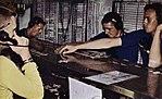 Flight deck control ouija board aboard USS Hancock (CVA-19), in 1963.jpg