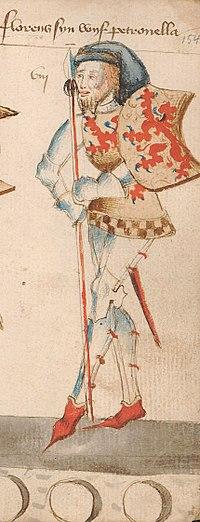 Floris II, Count of Holland, by Hendrik van Heessel.jpg