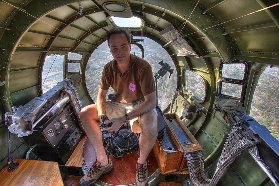Flying in a B-17 Bomber