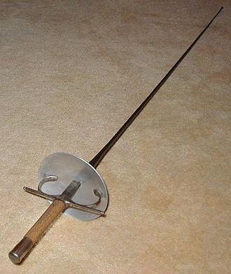 Foil (fencing) - Image: Foil 2004 A
