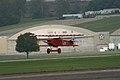 Fokker DVII Ernst Udet Hard Landing 06 Dawn Patrol NMUSAF 26Sept09 (14576892446).jpg