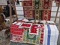 Folk homespuns. Street fair. - Fortuna Street. Castle District, Budapest.JPG