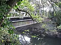 Footbridge over The River Mole near Horley - geograph.org.uk - 1529526.jpg
