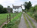 Footpath to Overton Road - geograph.org.uk - 542457.jpg