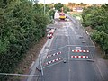 Fordbrook Lane, Roadworks - geograph.org.uk - 904243.jpg