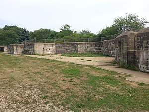 Fort Foster (Kittery, Maine) - Image: Fort Foster 10Emp 01