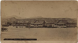 Fort Bliss - Fort Bliss in 1885. Photo courtesy of SMU