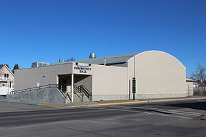 Fort Macleod - Image: Fort Macleod & District Community Hall