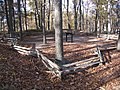 Fort Mill Ridge Civil War Trenches Romney WV 2008 10 30 15.JPG