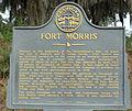 Fort Morris historical marker, GA, US.jpg
