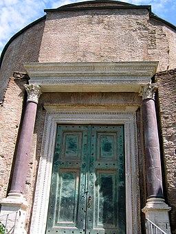 Forum temple of romulus