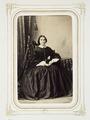 Fotografiporträtt på Fröken Appel - Hallwylska museet - 107843.tif