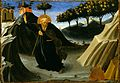 Fra Angelico - Saint Anthony Abbot Shunning the Mass of Gold (MFAH).jpg