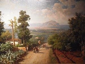 Francesco Lojacono - Francesco Lojacono: Veduta di Palermo (1875)