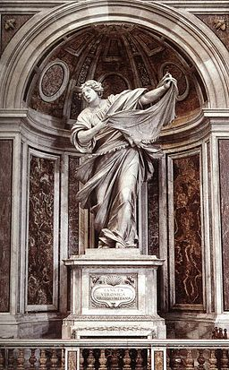 Saint Veronica by Francesco Mochi