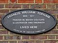 Francis William Topham 1808-1877 painter in water colours illustrator and engraver lived here.jpg
