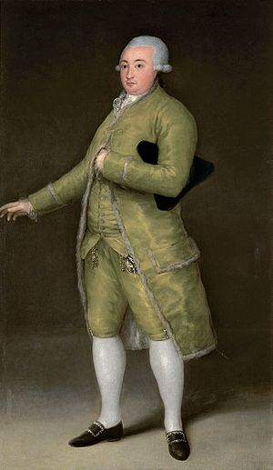 Armand Joseph Dubernad - A member of his family, François Cabarrus, by  Goya.