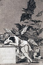 Francisco de Goya y Lucientes - The Dream of Reason Brings forth Monsters - Google Art Project.jpg