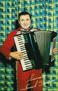 Frankie Yankovic Slovenian-American musician