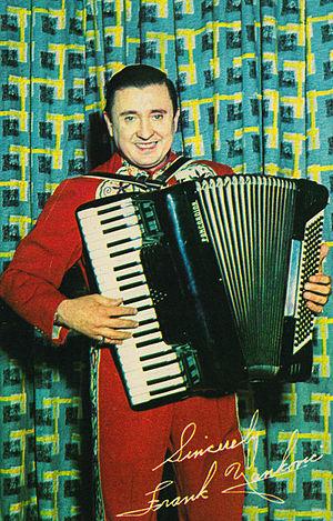 Frankie Yankovic - Yankovic in 1958.