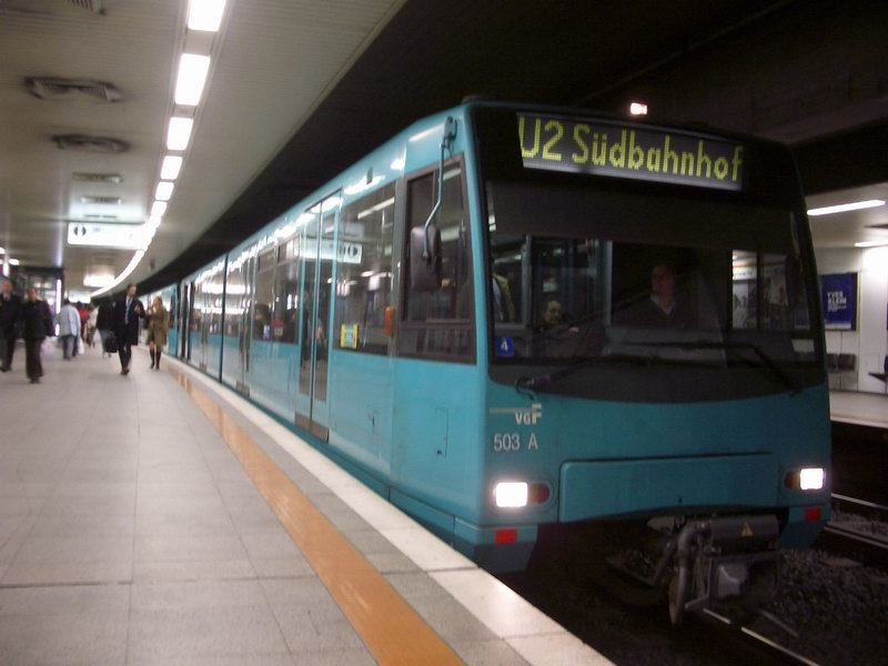 Frankfurt U-Bahn Train Type U4
