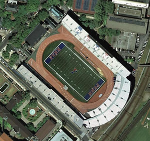 Franklin Field - Image: Franklin Field aerial