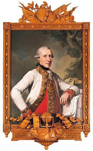 Franz Joseph, Count Kinsky - Image: František Josef Kinsky (1739 1805)
