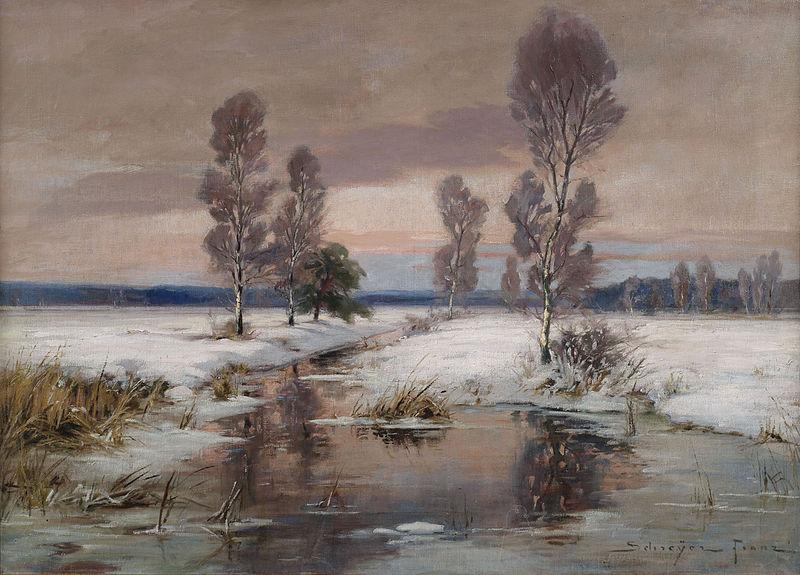 File:Franz Schreyer Winterliche Bachlandschaft.jpg