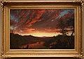 Frederick edwin church, tramonto nella natura selvaggia, 1860.jpg
