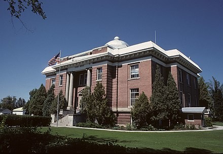 Fremont County Courthouse in Fremont County Fremont County Courthouse, St. Anthony.jpg